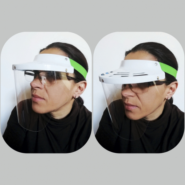 Vizieră pentru protecția feței 2