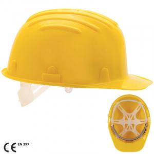 Casca protectie PE HD, armat. plastic 6p, S3300