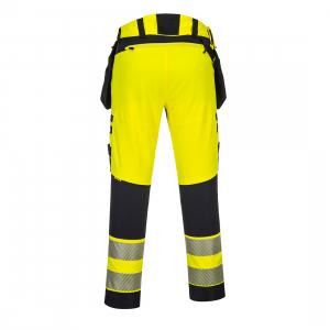 DX4 Hi -Vis Pantaloni cu buzunare detasabile DX4421