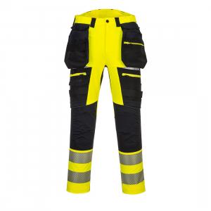DX4 Hi -Vis Pantaloni cu buzunare detasabile DX4420