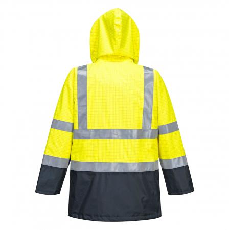 Jacheta de ploaie Bizflame HiVis Protectie Multipla S779 [1]