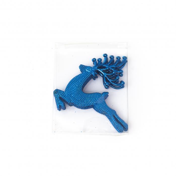 Set 33 de Globuri si Figurine Brad, Albastre,decoratiuni de Craciun [3]