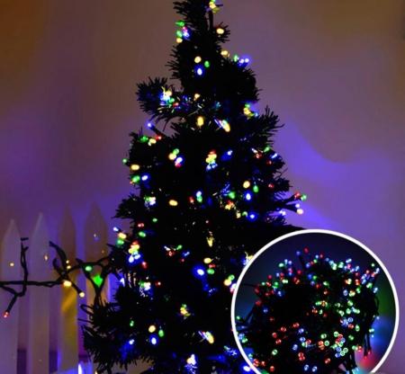 Instalatie luminoasa Craciun - 360 LED, 25M, multicolore [1]