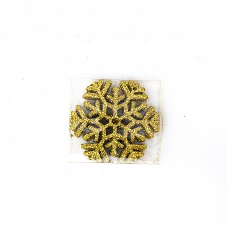 Set 33 de Globuri si Figurine Brad, Aurii,decoratiuni de Craciun [6]