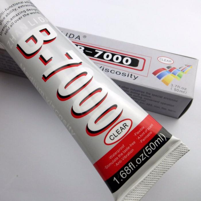 Adeziv Zhanlida B-7000 transparent si rezistent la apa si vibratii 50ml [0]