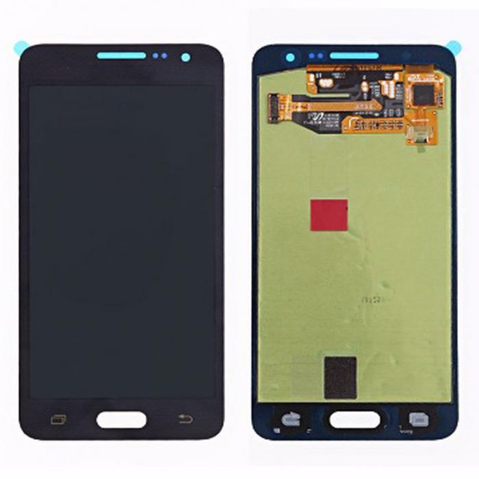 Display Samsung Galaxy A3 A300 2015 compatibil negru [0]