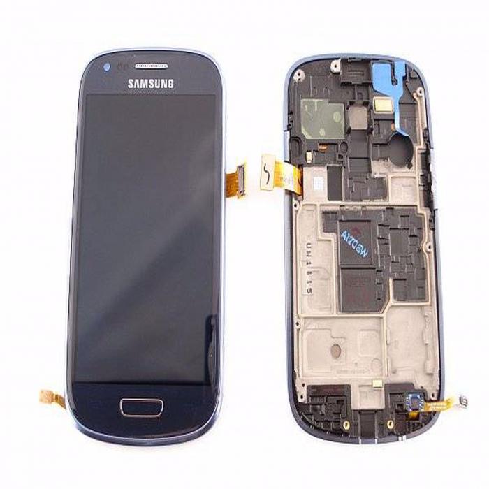 Display Samsung Galaxy S3 i8190 albastru original [0]