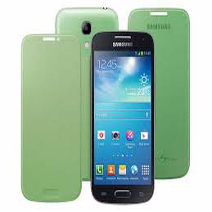 Husa Samsung Galaxy S4 mini i9195 EF-FI919BBEGWW originala verde [0]