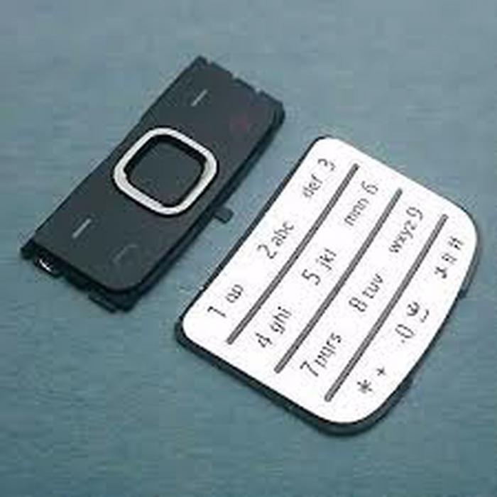 Tastatura Nokia 6700 classic argintie originala [0]
