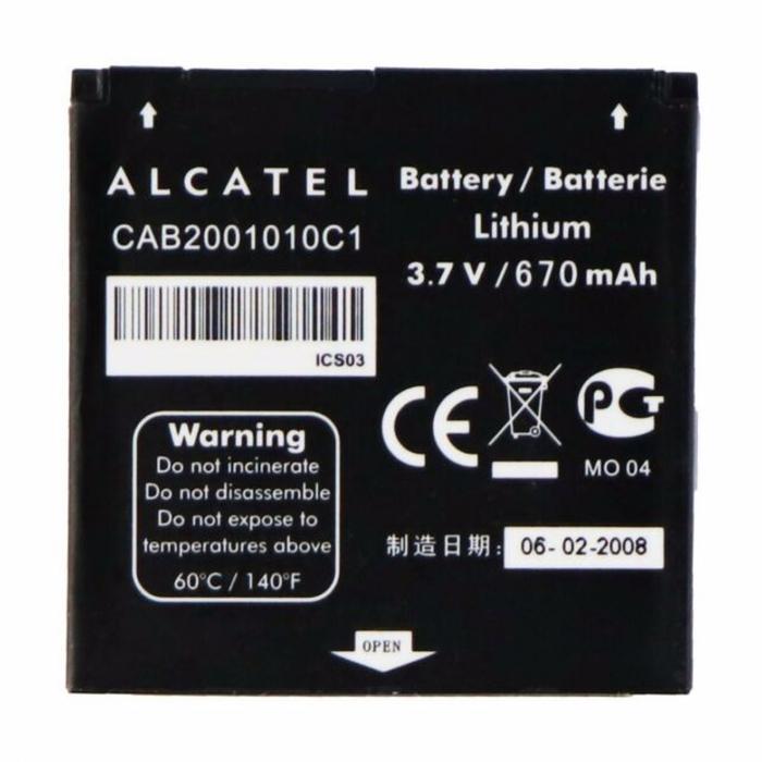 Alcatel OT-S210 S211 S211C S218 V212 CAB2001010C1 [0]