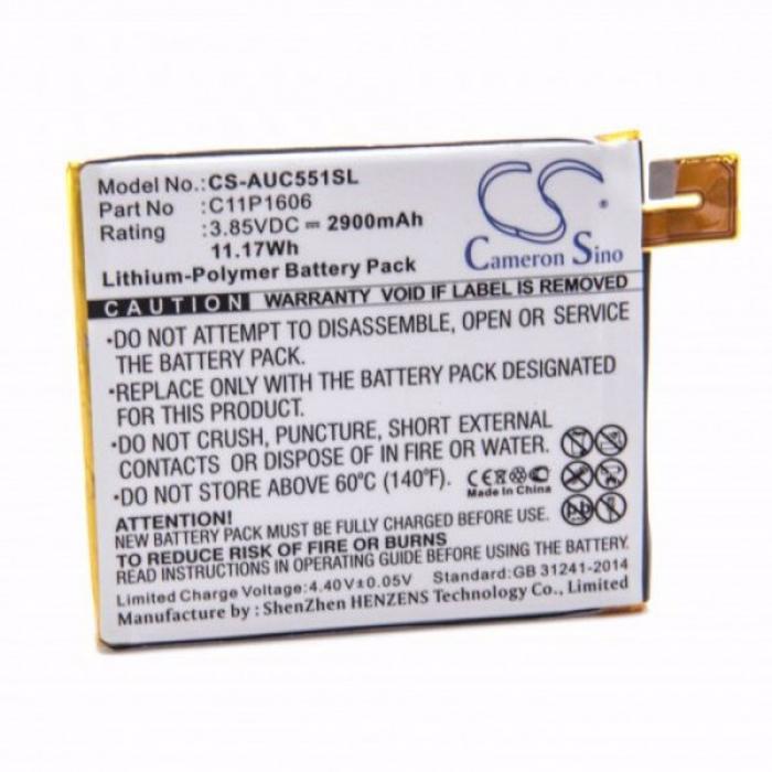 Baterie pentru Asus Zenfone 3 Laser, ZC551KL și altele 2900mAh [0]