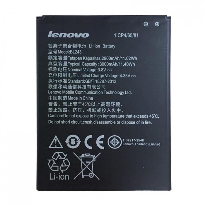 Acumulator Lenovo K3 Note K50-T5 A7000 A5500 A5600 A7600 BL243 [0]