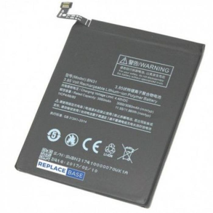 Acumulator Xiaomi Mi 5X Mi5X  Redmi Note 5A 5A pro BN31 [0]