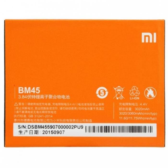 Acumulator Xiaomi Redmi Note 2 BM45 [0]