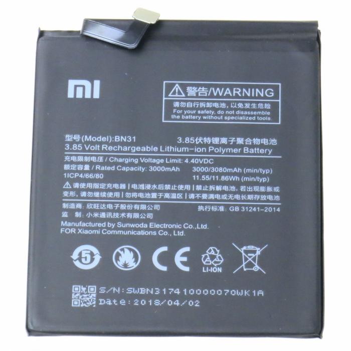 Acumulator Xiaomi Redmi Note BN31 [0]