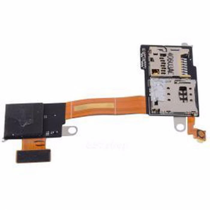 Banda Flex Cititor SIM Card Sony Xperia M2 [0]
