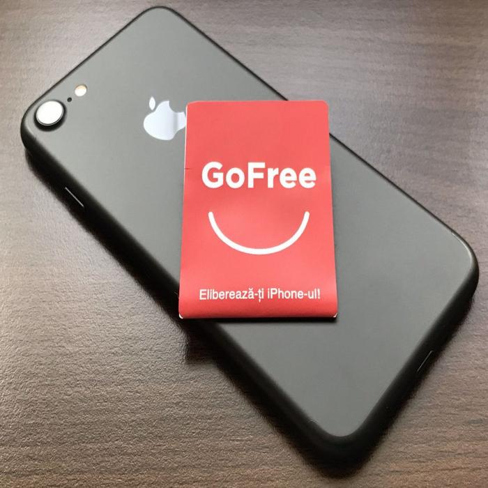 Cartela decodare sim iPhone cip Gofree decodeaza iPhone Xs Max, XR, 11, 11 Pro, 11 Pro Max [0]