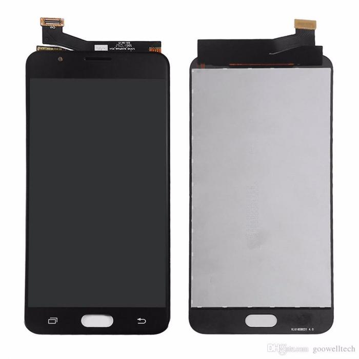Display Samsung Galaxy J7 J700 2015 compatibil negru [0]
