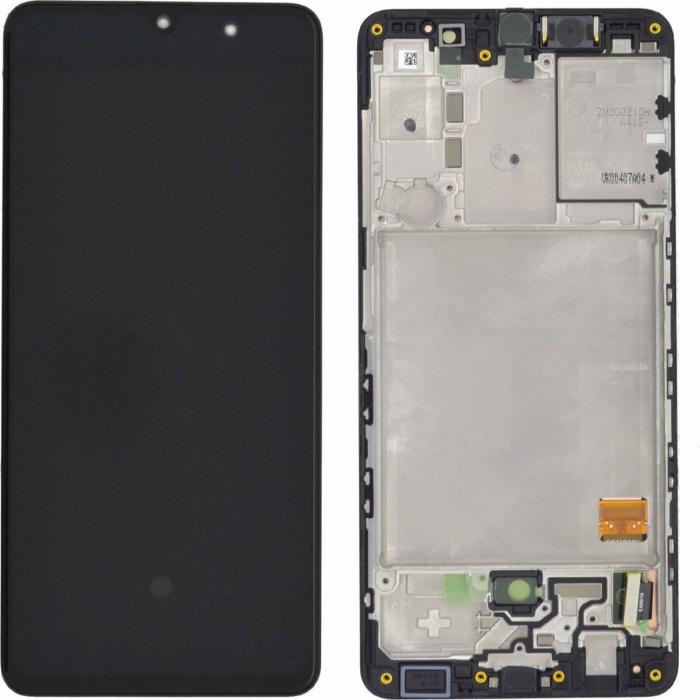 Display Samsung Galaxy M11 M115 negru compatibil [0]