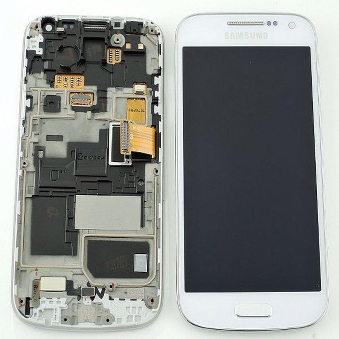 Display Samsung Galaxy S4 mini alb [0]