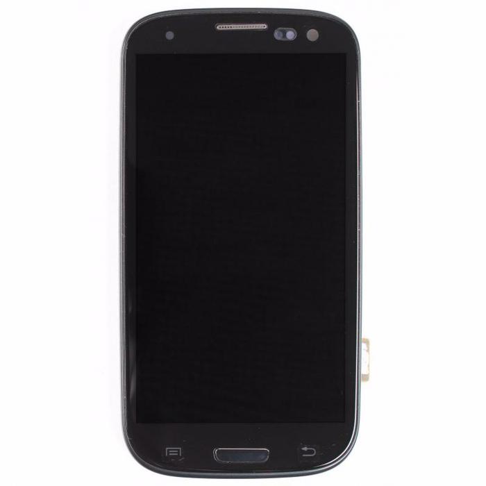 Display Samsung Galaxy S3 i9300 cu rama original negru [0]