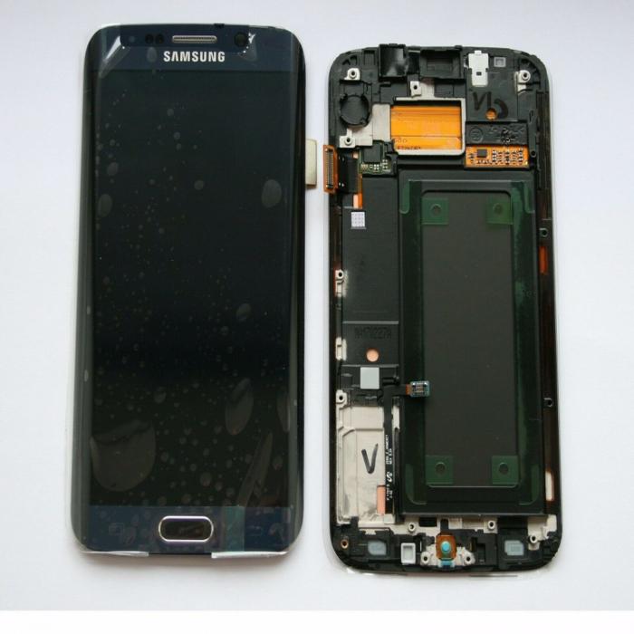 Display Samsung Galaxy S6 Edge 2018 G925 Negru [0]