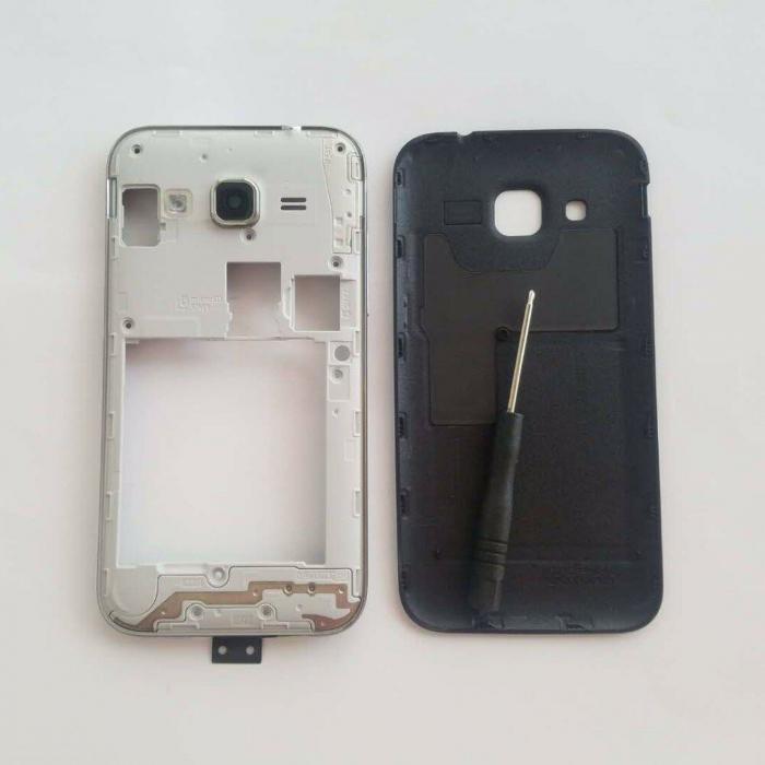 Rama mijloc cu capac si butoane pentru Samsung Galaxy Core Prime G361F [0]