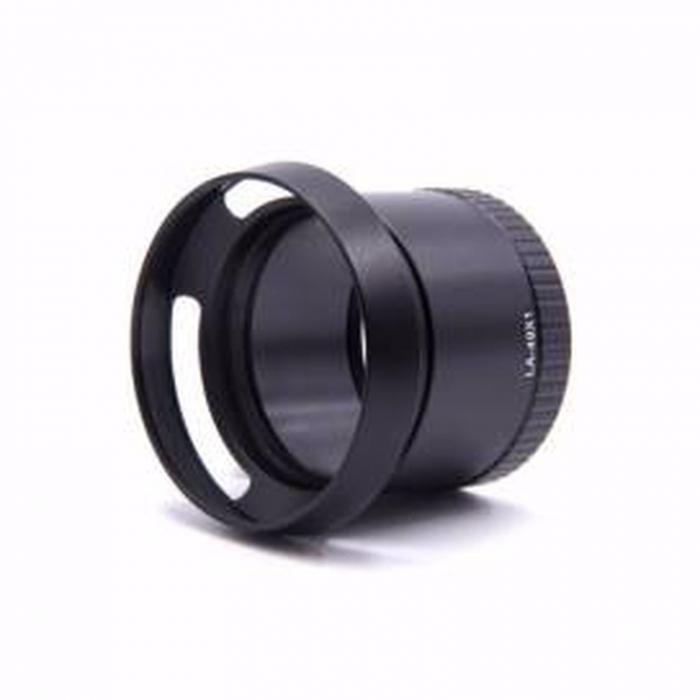 Tub adaptor de filtrare cu parasolar negru pentru Leica X1, X2 [0]