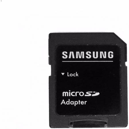 Card memorie microsd 4GB cu adaptor Samsung [1]