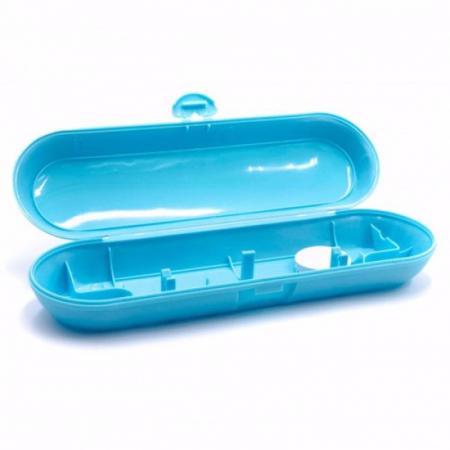 Carcasa de transport albastra pentru periute de dinti electrice precum Philips Sonicare Oral B [0]