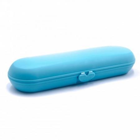 Carcasa de transport albastra pentru periute de dinti electrice precum Philips Sonicare Oral B [1]