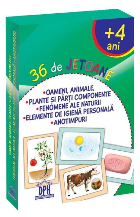 36 DE JETOANE - OAMENI, ANIMALE, PLANTE, FENOMENE, IGIENĂ, ANOTIMPURI [0]