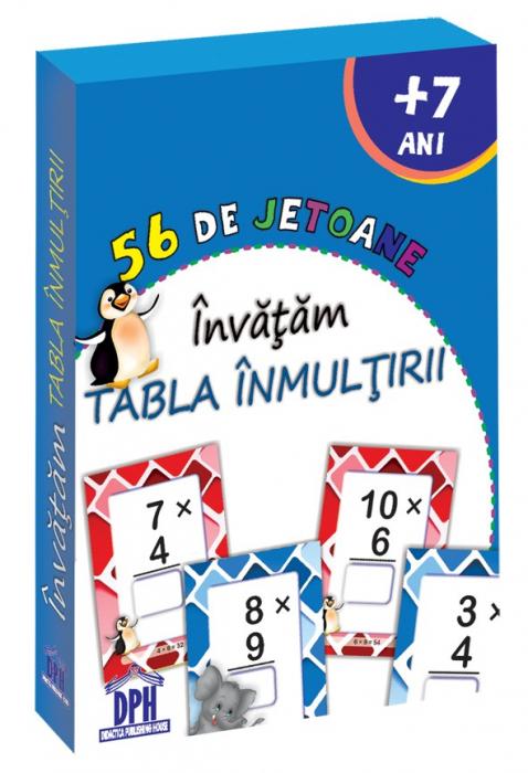 56 DE JETOANE - INVATAM - TABLA INMULTIRII 0