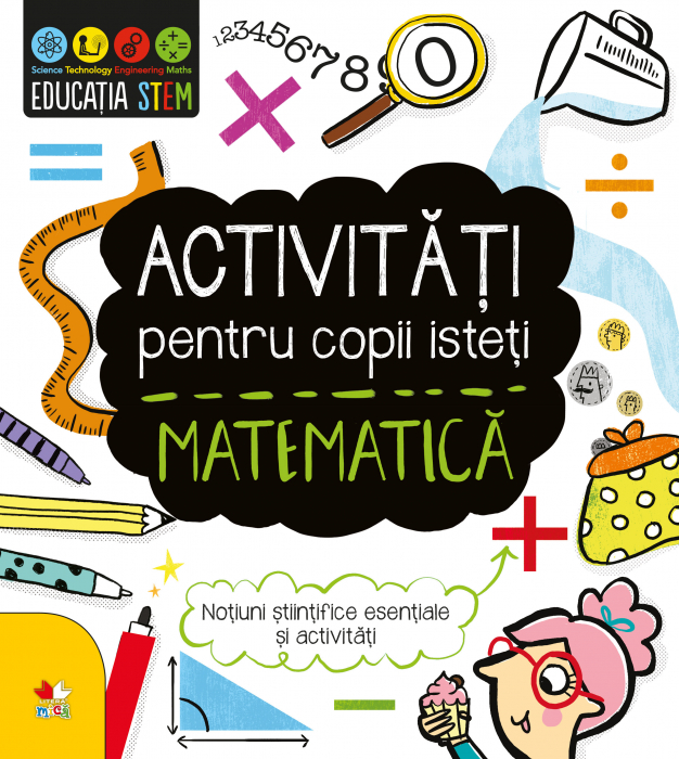 Activitati pentru copii isteti. Matematica 0