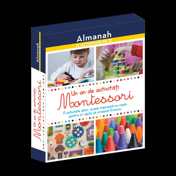 ALMANAH - O ACTIVITATE PE ZI: UN AN DE ACTIVITATI MONTESSORI 0