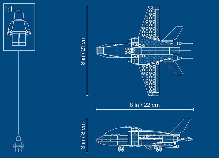 Arest cu parasutisti al politiei aeriene (60208) - Lego City 7