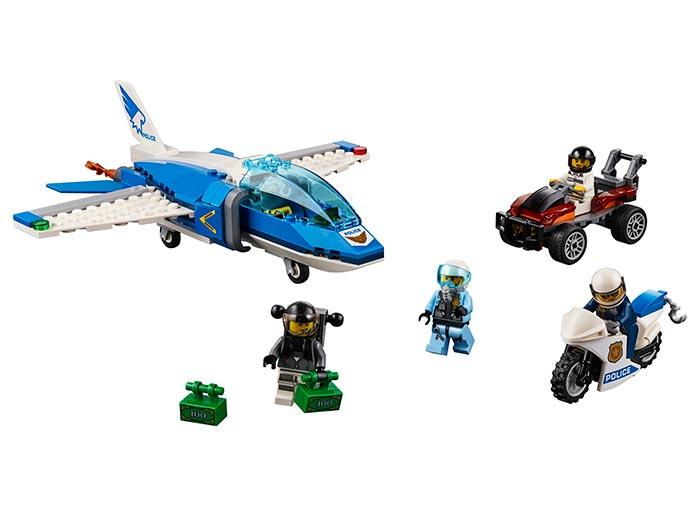 Arest cu parasutisti al politiei aeriene (60208) - Lego City 1