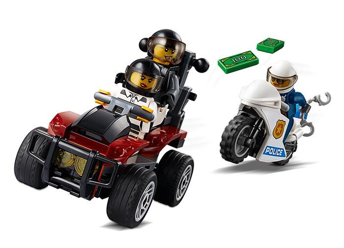 Arest cu parasutisti al politiei aeriene (60208) - Lego City 5