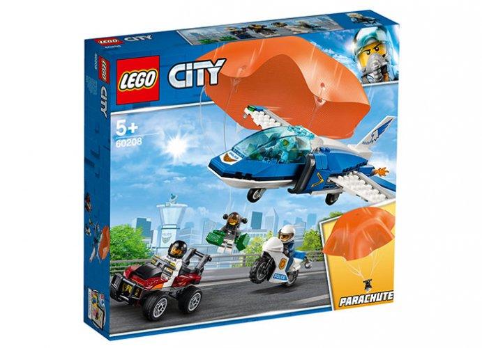 Arest cu parasutisti al politiei aeriene (60208) - Lego City 0
