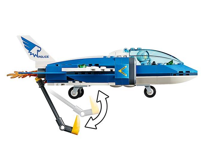 Arest cu parasutisti al politiei aeriene (60208) - Lego City 6