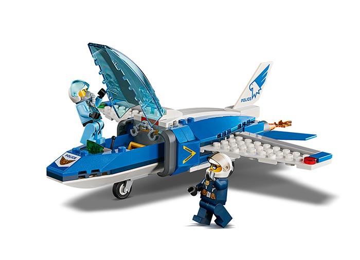 Arest cu parasutisti al politiei aeriene (60208) - Lego City 4