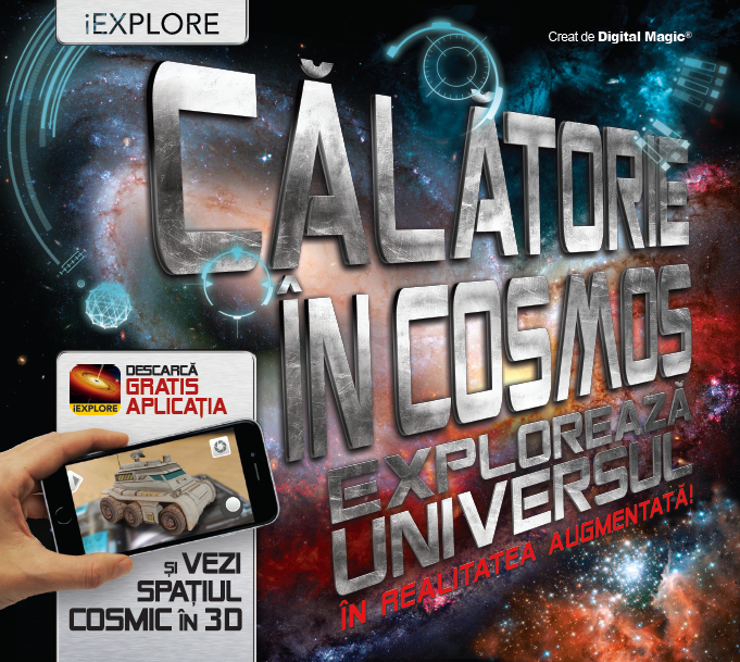 Calatorie in cosmos. Exploreaza universul in realitatea augmentata! 0