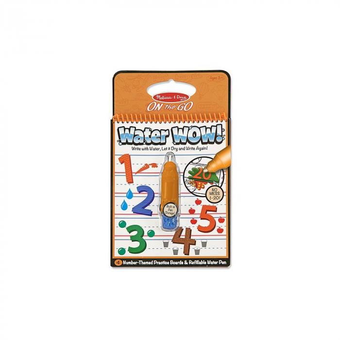 Carnet de colorat cu apa - Numerele (Water Wow) [0]