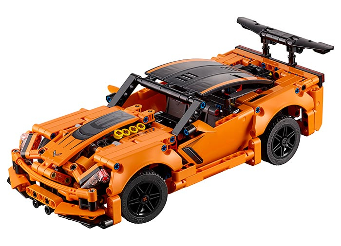 Chevrolet Corvette ZR1 -  LEGO Technic 1