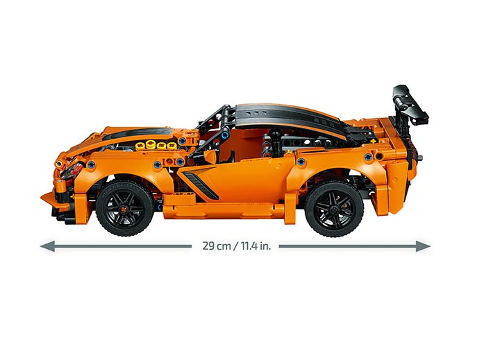 Chevrolet Corvette ZR1 -  LEGO Technic 6