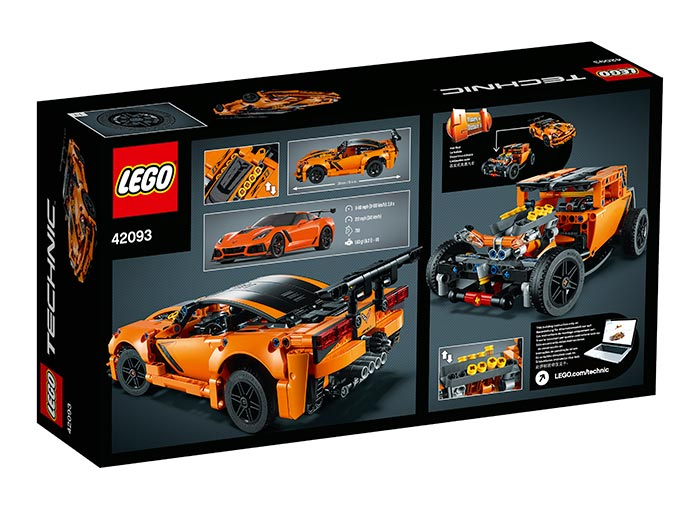 Chevrolet Corvette ZR1 -  LEGO Technic 2
