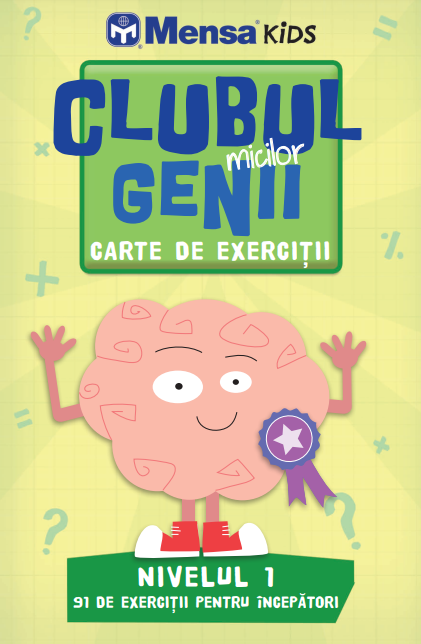 Clubul micilor genii. Carte de exercitii. Nivelul 1 0