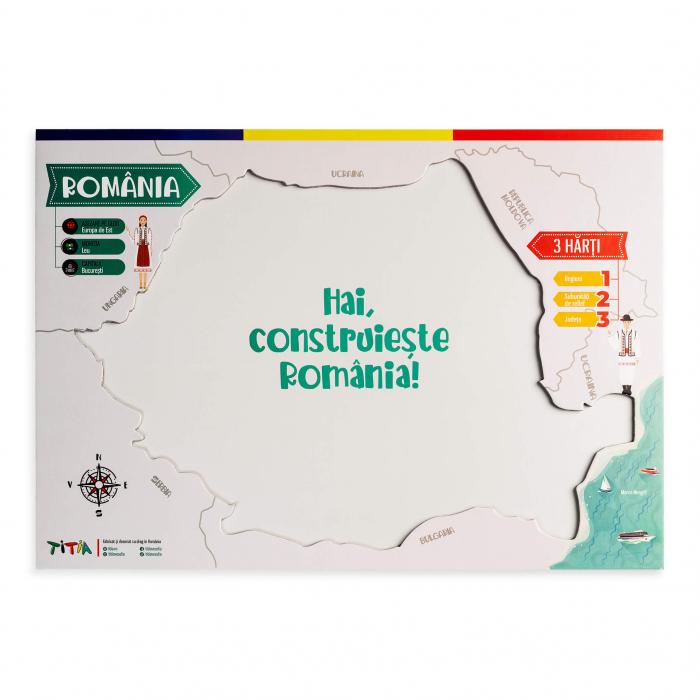 Construieste Romania - Puzzle stratificat 5