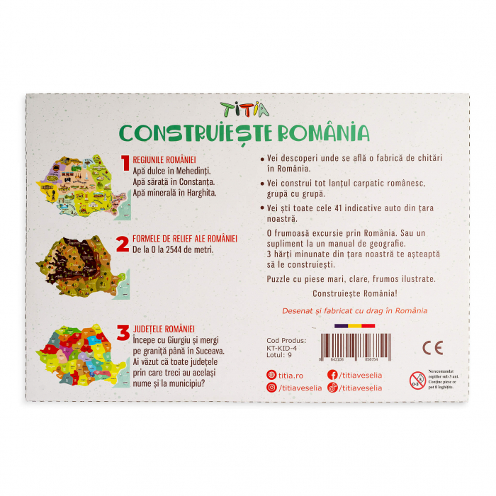Construieste Romania - Puzzle stratificat 6
