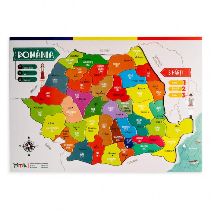 Construieste Romania - Puzzle stratificat 2